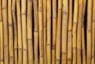 Aberglasslyn Bamboo fencing 2