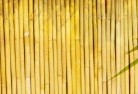 Aberglasslyn Bamboo fencing 4